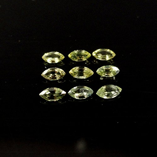 Canary Yellow Sapphire 1 Carat Marquise Shape 4x2mm (7471)