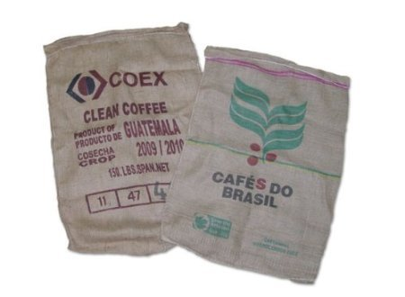 Cast-off Burlap Coffee Bags (10 Pack)