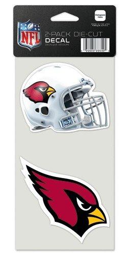 Arizona Cardinals Set of 2 Die Cut Decals (Wincraft Arizona Cardinals Decal)