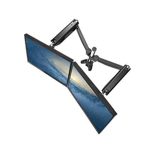 Suptek Dual Arm Full Motion LCD Stand Desk Mount for 10''-30