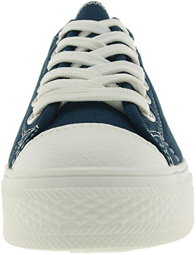Maxstar C1 6-Holes Casual Canvas Low Sneakers Shoes C1-1-Navy 4uVmnw4pf