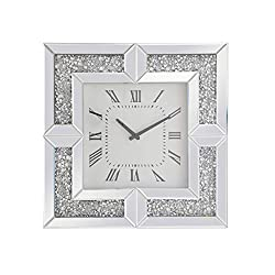 Living District Elegant Lighting MR9208 Modern 20 X 20 inch Wall Clock