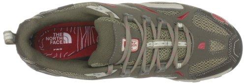 The North Face W Hedgehog Gtx Iii - Zapatillas de senderismo de ante para mujer, color marrón, talla 40,5 Red