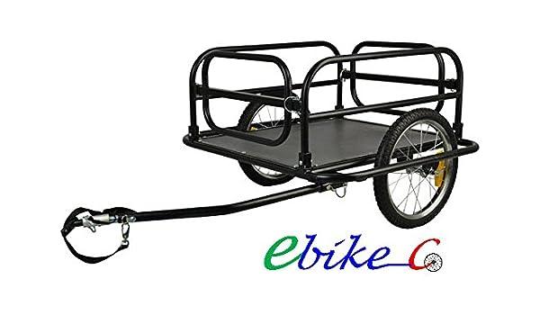 ebikeCo Remolque de Bicicleta Carga XL, España, Garantía: Amazon ...