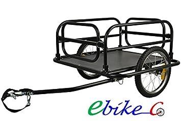 Remolque de bicicleta ebikeco carga XL, España, Garantía: Amazon.es: Deportes y aire libre