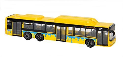Majorette 212053151 - MAN City Bus C, Bus, 13 cm