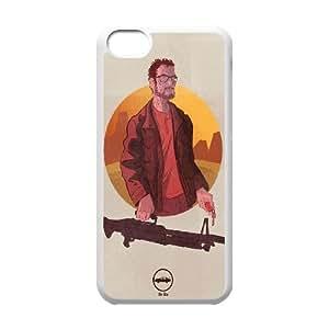 iPhone 5c Cell Phone Case White Breaking Bad Heisenber Illustration Onusi