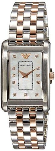 Emporio Armani Women's AR1905 Classic Two Tone Watch