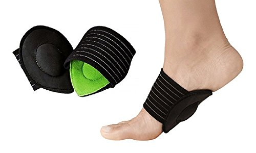 (Dr Rogo Orthopedic Arch Support with Comfort Gel -Cushions Plantar Fasciitis Wrap-Compression Therapy)
