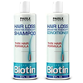 Biotin Shampoo and Conditioner for Hair Growth Treatment Sulfate Free Shampoo and Conditioner for women Hair growth…