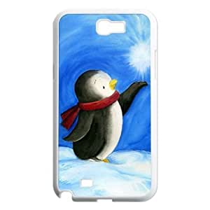 Penguin Phone Case for Samsung Galaxy Note2 N7100,diy Penguin phone case