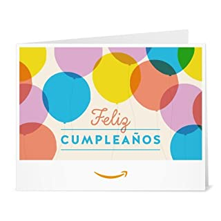 Amazon Gift Card - Print - Globos del Cumpleaños (B01M9BAFJJ) | Amazon price tracker / tracking, Amazon price history charts, Amazon price watches, Amazon price drop alerts