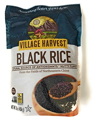 - Village Harvest Authentic Asian Black Rice -- 16 oz