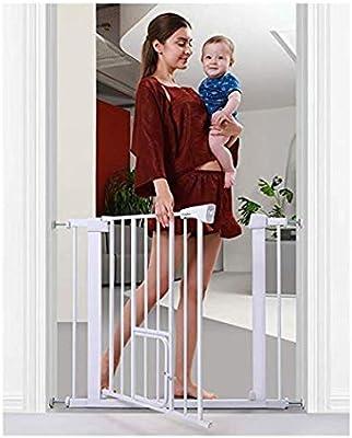 Puerta De Bebé Puerta For Bebés Con Puerta For Gatos Puertas De Jardín Cerrado Automático Montaje A Presión Cerca De Interior For Mascotas Barra De Puerta De Seguridad For Niños Cerca De