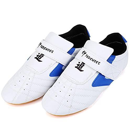 Vbestlife Taekwondo Shoes Men Women Kids Martial Art Shoes Karate Kung Fu Tai Chi Shoes Comfortable Lightweight…