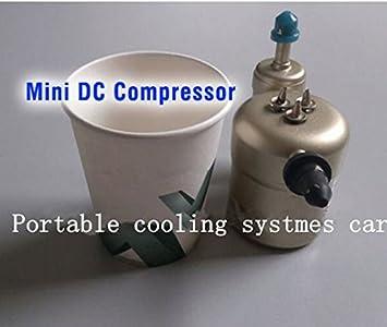 GOWE 24 V compresor para systmes portátil refrigeración ...