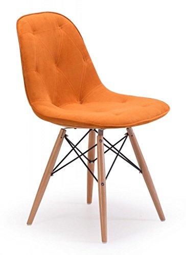 Modern Dining Chair in Orange ()