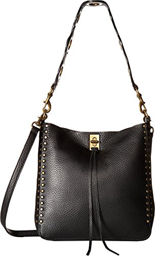 Rebecca Minkoff Women's Darren Small Feed Bag, Black, One Size by Rebecca Minkoff