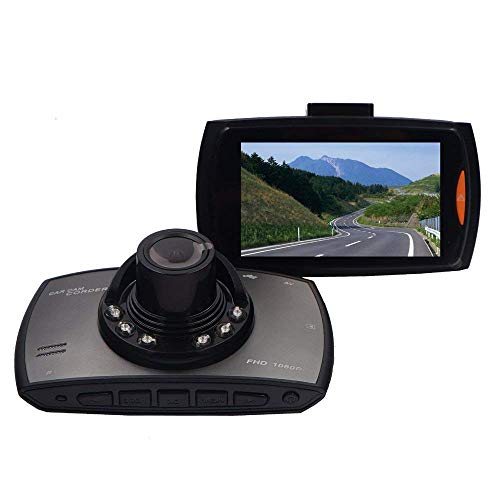 Growtech Dash Cam HD 1080P 2.7 Inch Screen Car Camera On-dash Video Recorder Dashboard Camera with 140°Wide Angle Night Vision G-sensor Motion Detection Parking Monitor Loop Recording with 8GB SD card Review
