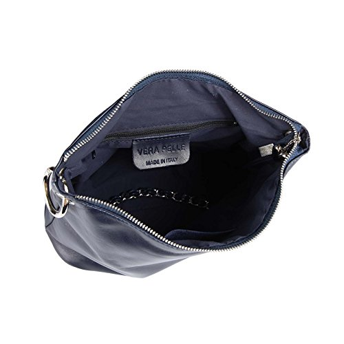OBC Only-Beautiful-Couture - Bolso al hombro para mujer Azul azul oscuro ca.: 30x22x12 cm (BxHxT) verde oscuro