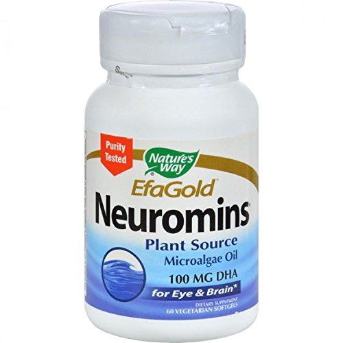 Nature's Way, EFAGold, Neuromins, 60 Veggie Softgels by Natures Way