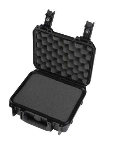 Skb Pistol Case - SKB Injection Molded Cubed Foam Equipment Case (Black, 9- Inch x 7- Inch x 4- Inch)