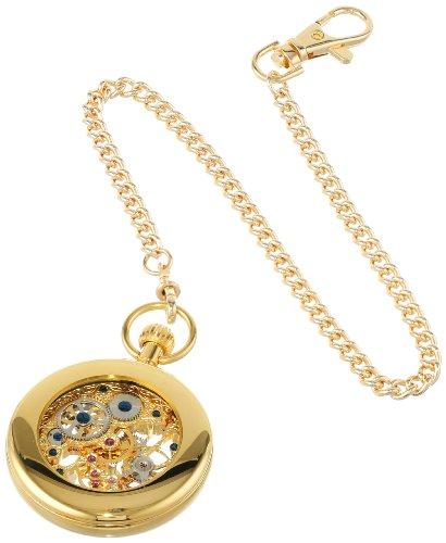 Charles-Hubert, Paris Gold-Plated Open Face Mechanical Pocket Watch by Charles-Hubert, Paris (Image #1)