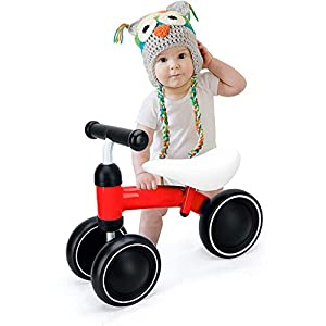 Balance Bike Toy Toddler Bicycle Stride Tricycle, Best Birthday Gift for Girl and Boy in 1 to 3 Years Old Ride on Toys…