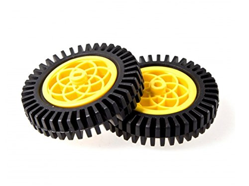 Rubber Wheel (Compatible With Servo & Motor)/Popul...