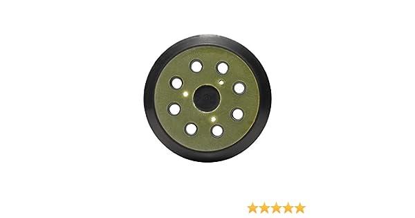 5/ lijadora Orbital Pad 125/mm 8/agujeros redondo gancho y bucle lijado Pad