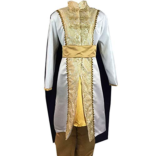 Adult Mens Prince Arabian Cosplay Costume Carnival Party Costume Halloween (L) -