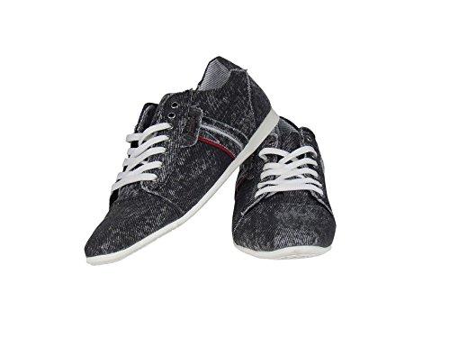 Tamboga - Zapatillas para hombre Negro negro Negro - negro