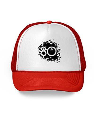 Awkward Styles 80s Hat 80s Trucker Hat 80s Accessories 80s Party Themed Disco 80s Themed ()