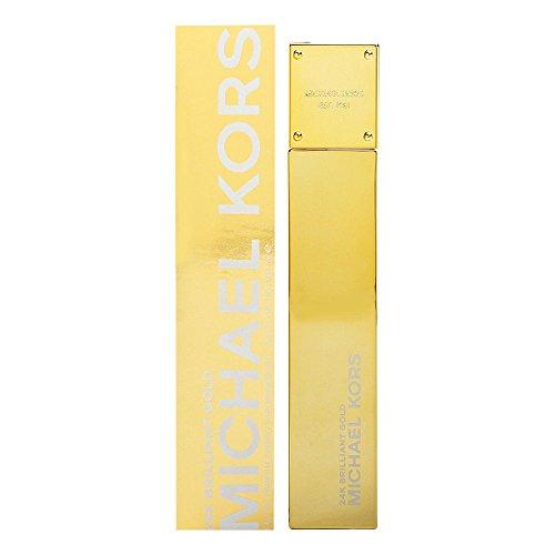 Michael Kors Eau de Parfum Spray for Women, 24k Brilliant Gold, 3.4 Ounce
