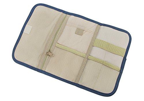 Reisentasche, Elektronische Tasche, Kosmetiktasche, Medizintasche, Digital Speicher Paket Datenkabel Paket Tragetasche Elektronik Zubehör Tragbare Reisetasche Organisator Tasche Dunkelblau