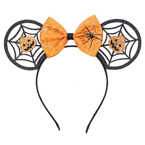 Scary Mermaid Costumes - YanJie Mouse Ears Bow Headbands, Glitter