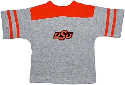 Creative Knitwear Oklahoma State University Cowboys Baby Sport Shirt Orange