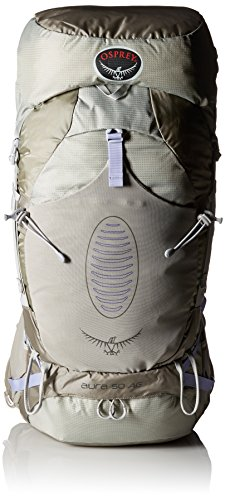 Osprey Women's Aura AG 50 Backpack, Silver Streak, Small