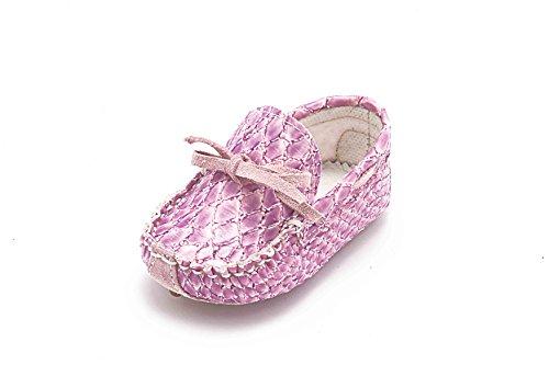 ABA , Baby Mädchen Krabbelschuhe & Puschen rosa Violett
