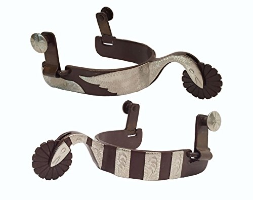 Antique Swans - The Colorado Saddlery The Swan Spur, Antique Brown