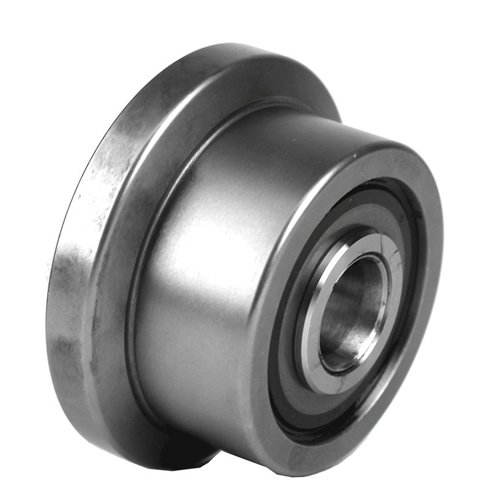 Osborn Load Runners FLRY-2 - Flanged Cam Follower - 2.0000 in Roller Dia, 1.6875 in Roller Width, 2.6875 in Flange Dia, 0.3120 in Flange Thickness, Single - 0.312 Flange Inch