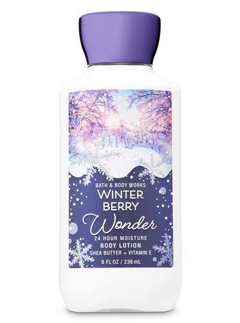 Bath & Body Works Shea & Vitamina E bodylotion (Invierno Berry Wonder) 236 ml