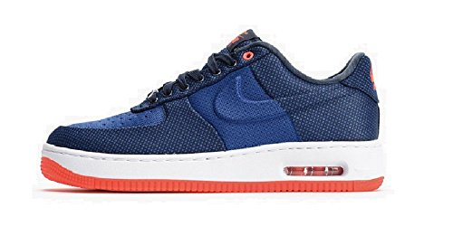Nike Air Force 1 One Elite Knit Jacquard Kjcrd Vt Sneaker Blauw