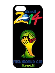 Popular Sell Design Fuleco 02 Brazil Word Cup TPU Iphone 5 5s Cases