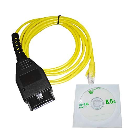 Ethernet para OBD cable de interfaz E-SYS ICOM Codificación de la serie F para BMW ENET 2M