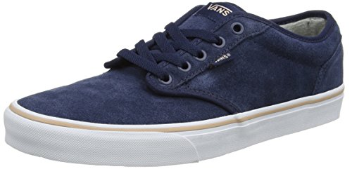 Vans Damen Atwood Suede Sneaker Mehrfarbig (Weatherized/ Dress Blues)