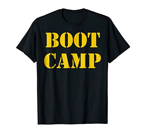Boot Camp Shirt Military Bootcamp Fitness Tee