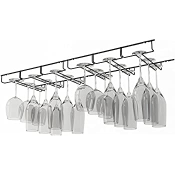Fresh Under Cabinet Stemware Rack Ikea