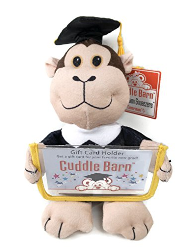 Graduation Squeezers Gift Card Holders Celebration Played Cuddle Barn Monkey