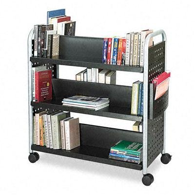 Safco Scoot Book Cart by Safco